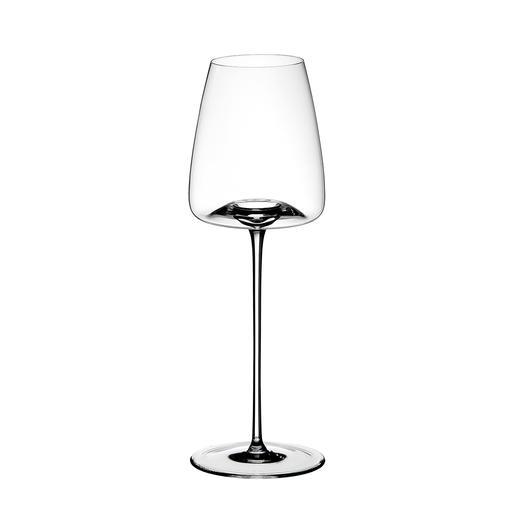 STRAIGHT: Für rebsortenrein definierte sowie fruchtige und aromatisch präsente Rot- und Weißweine. H27cm, Ø9cm, Inhalt ca. 540ml.