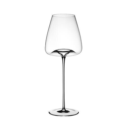 INTENSE: Für opulente, große Gewächse, kraftvolle Weiß- und Rotweine, rustikale, säurebetonte Weiß- und Rotweine, junge und mittelalte Bordeauxweine. H28cm, Ø10,5cm, Inhalt ca. 640ml.
