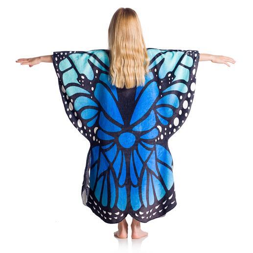 Schmetterling, Pink/Blau