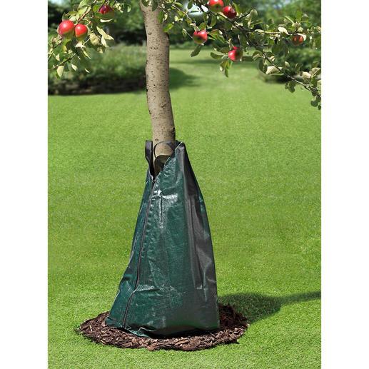 Bewässerungssack Der Wassersack mit dosierter Tröpfchenabgabe. Effektive Tiefenbewässerung für Ihre Bäume und Sträucher.