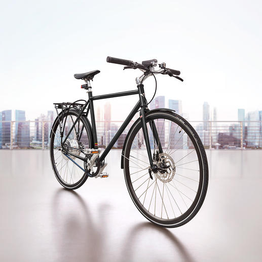 City-E-Bike Cooper E Disc Eine Marke. Eine Legende. ­Automobile Historie vereint in einem City E-Bike. Innovation und Lifestyle auf 2 Rädern.
