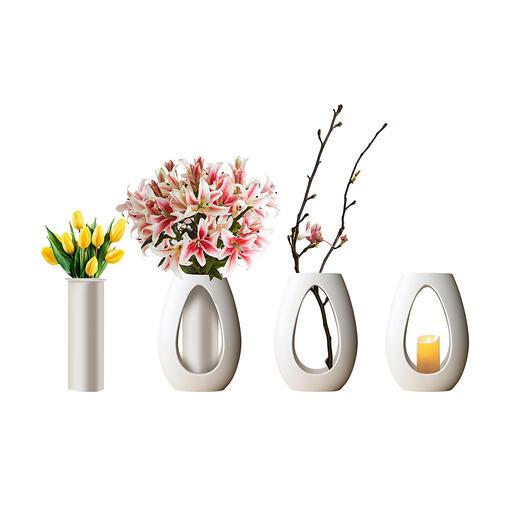 Vierjahreszeiten-Vasenset