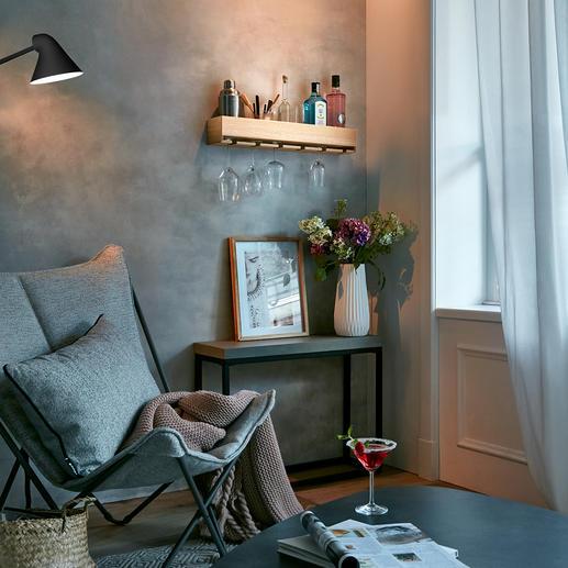 Eichenholz-Minibar Ihre perfekte Hausbar: alles bequem zur Hand für Ihre besten Drinks.