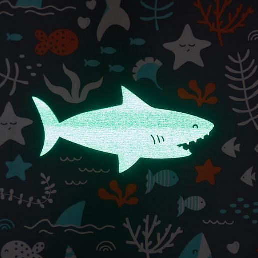 Kinderbettwäsche, Blaue Haie