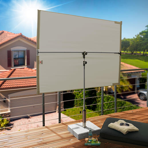 doppler® Sonnen- und Sichtblende Genial flexibel: der perfekte Sonnen- und Sichtschutz für Terrasse, Loggia und Balkon.