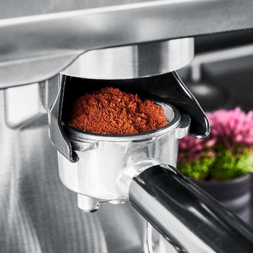 Aromatisch frisch gemahlene Bohnen wie in italienischen Kaffeebars.