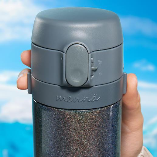 Überall frisch gebrühter Tee so wie Sie ihn mögen: Nur heißes Wasser einfüllen, Tee in das Edelstahlsieb geben und die Brüheinheit samt Deckel auf die Flasche schrauben.