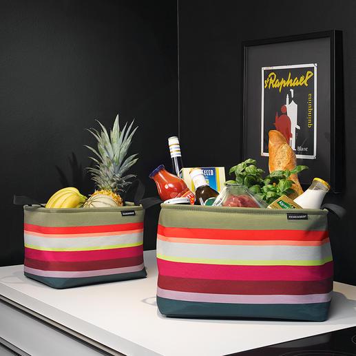 Korb-Set, 3-tlg. So schön kann Ordnung sein: Stylishe Aufbewahrungskörbe in außergewöhnlich stimmiger Farbpracht.