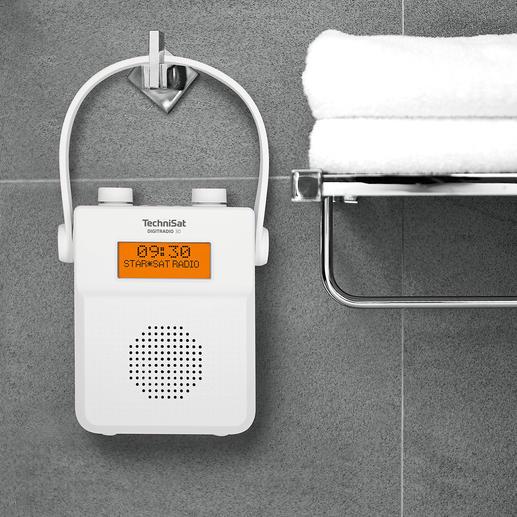 TechniSat Dusch- und Badradio Rauschfreier digitaler Radioempfang und soundstarke Lieblingsmusik vom Smartphone. Von TechniSat, Deutschland.