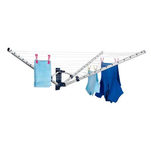 FaltbareWand-Wäschespinne