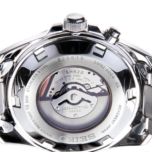 Seiko Kinetic Armbanduhr