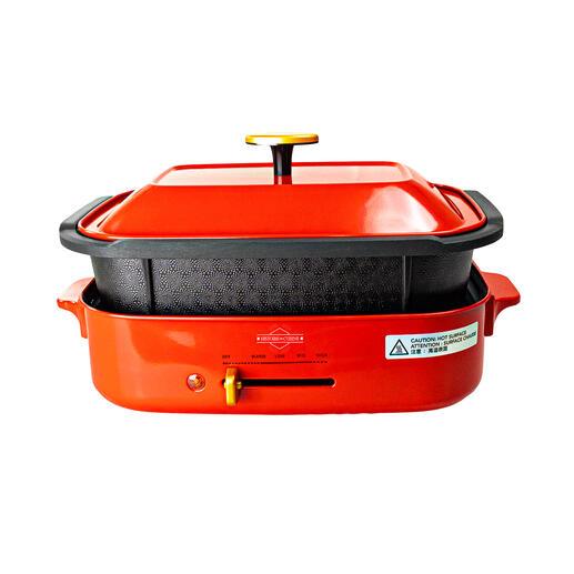 4-l-Kocheinsatz – ideal für Braten, Eintopf- und Schmorgerichte.