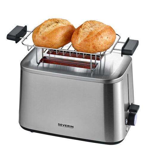 Abnehmbarer Brötchenaufsatz – zum Aufbacken und direkt Servieren von Brötchen, Toasts, Croissants,...
