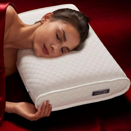 medisana® SleepWell-Kissen Für Astronauten entwickelt: wissenschaftlich komponierte Klänge fördern Stressabbau und helfen, die Schlafqualität zu verbessern.