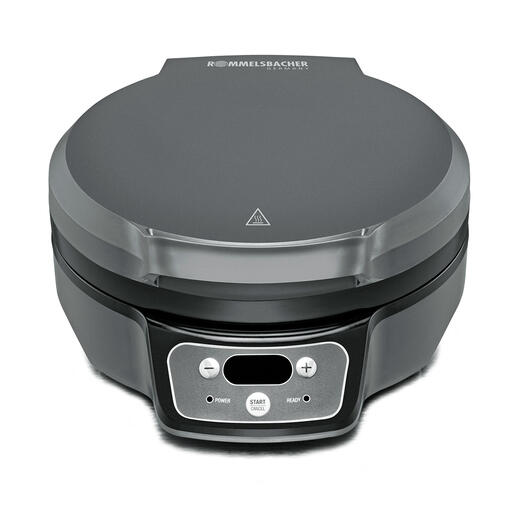 Cool-Touch-Gehäuse aus robustem Kunststoff mit integrierter Griffmulde.