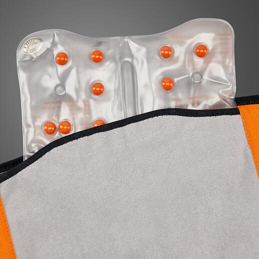 Das herausnehmbare Heizpad ist bis zu 500-mal wiederverwendbar.