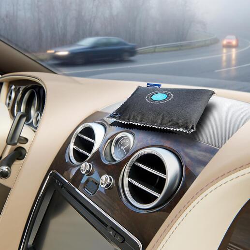 Autoentfeuchter mit Indikator, 2er-Set Schützt vor beschlagenen Autoscheiben. Und zeigt an, wann er getrocknet werden muss. Der wiederverwendbare Entfeuchter mit Indikator.