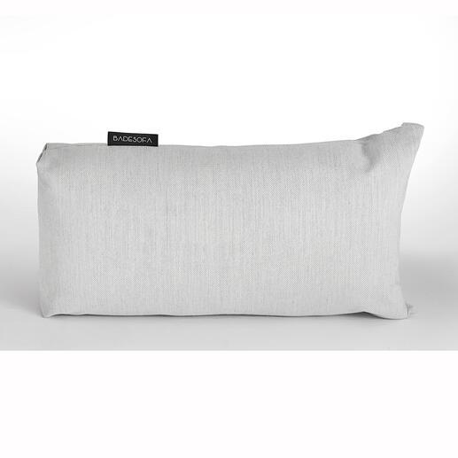 Das XS-Kissen ist auch ideal, um die Wannenlänge zu verkürzen.
