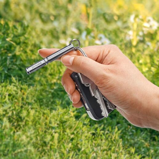 Handlich klein und immer dabei – am Schlüsselbund, Rucksack, der Gürtelschlaufe,…