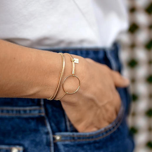 Layering-Schmuckring-Armband