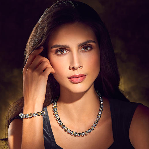 Murano-Perlenarmband oder -collier