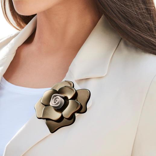 Stilomio® Magnetbrosche Endlich eine Magnetbrosche, die hält – selbst an Wollpullis, Handtaschen, Lederstiefeln, …