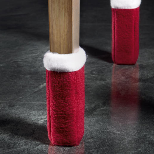 """Schön zur Adventszeit: Mit den """"Wukies"""" in Rot/Weiß stimmen Sie Ihr Ambiente weihnachtlich."""
