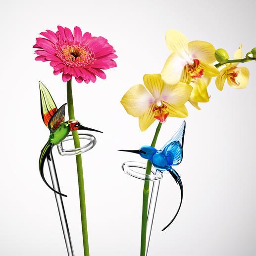 Dank kostbarer Lauschaer® Glaskunst können die wunderschön leuchtenden Farben nicht ausbleichen.