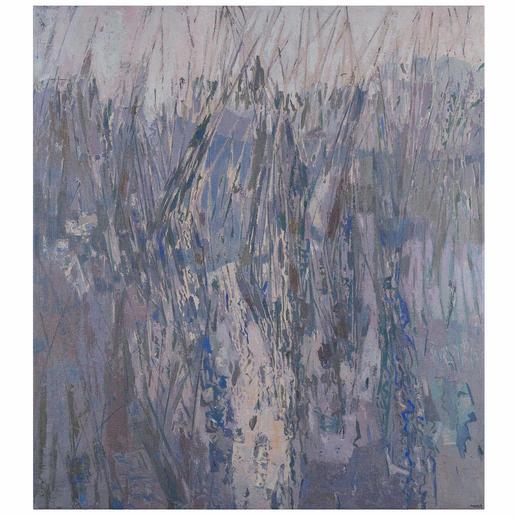 José Maria Guerrero Medina – Binsen am See - Das Werk eines der wichtigsten spanischen Maler: Erste Leinwand-Edition des Künstlers Guerrero Medina.