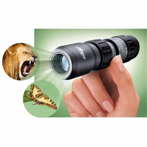 Luger Mini-Okular Qualität von Luger. 5-15fache Vergrößerung, auch im Nahbereich bis 30 cm.