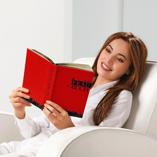 """""""Eine Frau – Ein Buch"""" - 120 Tipps und Tricks für alle Lebenslagen. Von vielen Frauen-Journalen hochgelobt."""