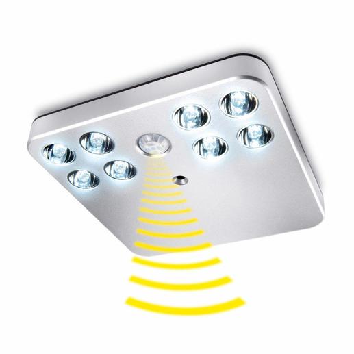 LED-Sensorlicht - Klein, hell, ohne Stromanschluss. Für alle Schränke, Schubladen, Treppenaufgänge, ...