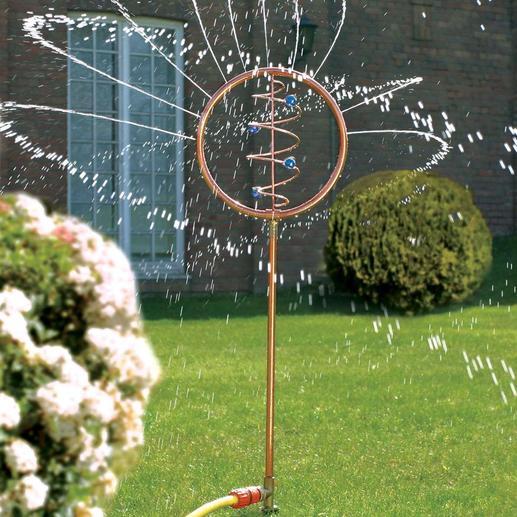 Blue Swirl Wasserspiel Ein faszinierendes Kunstobjekt bewässert jetzt Ihren durstigen Garten.