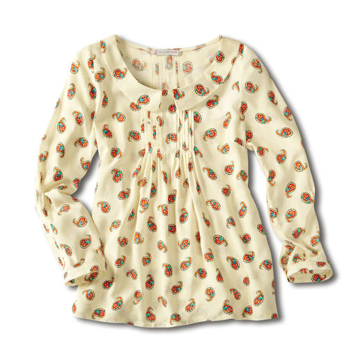 Paul & Joe® Sister Paisley-Bluse - Die Paisley-Bluse mit den wichtigsten Farben der Saison.