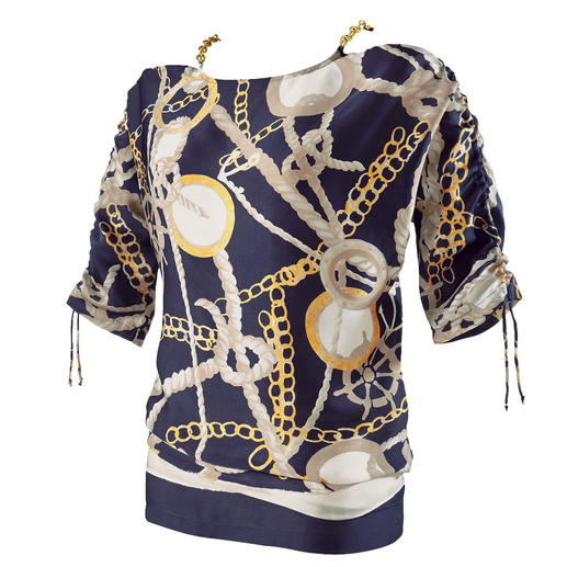 Marina Yachting Oversize-Bluse - Blickfang-Bluse in angesagter Oversize-Form.