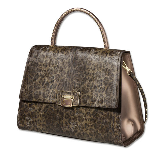 cavalli CLASS Leo-Bag - Heute topaktuell, bald schon ein begehrter Design-Klassiker: cavalli CLASS Leo-Bag.