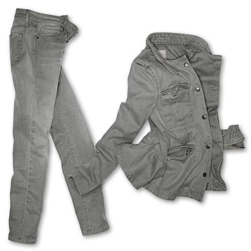 """Joe's Jeans oder Jeansjacke """"Light Grey"""" Mit Light Grey Denim mal wieder der Mode voraus: Joe's Jeans. Das Trendlabel aus L. A."""