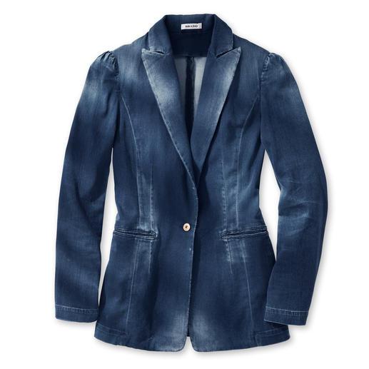Cycle Jeans-Blazer Der Oversize-Blazer: optisch nah an kernigem Denim – aber viel weicher und fließender. Von Cycle.