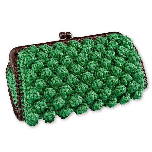 M Missoni Bast-Clutch oder -Gürtel Extravagante M Missoni Accessoires krönen den Look.