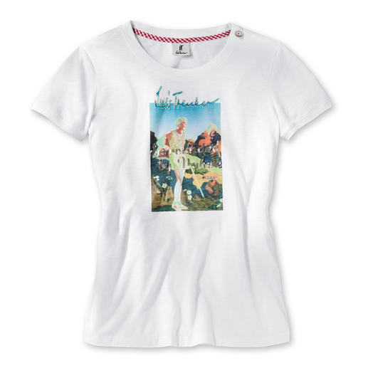 Luis Trenker Print-Shirt - Blickfang-Print macht das Basic-Shirt zum heimlichen Star.