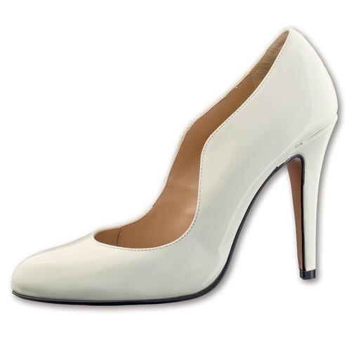 Olympic Lack-High-Heels, Blau oder Weiß Must-have-Pumps in Top-Qualität, zum Top-Preis.