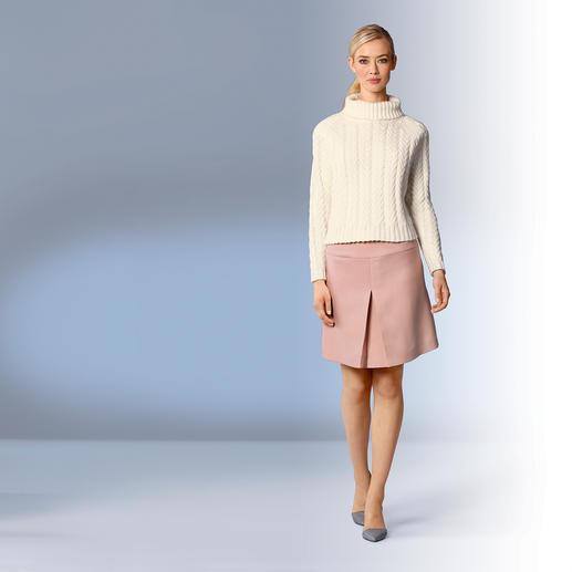 Cacharel Zopf-Pullover - Angesagt kastig und grob gestrickt – und doch ganz feminin. Französischer Strick-Chic von Cacharel.