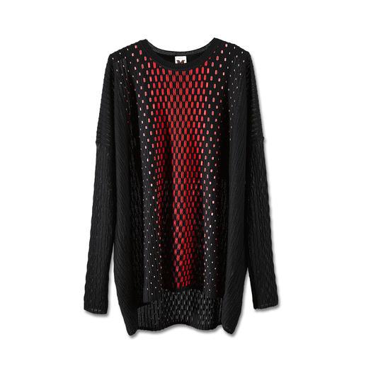 M Missoni Oversize-Pullover - Aktuell oversized – und doch feminin figurbetont.