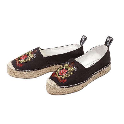 Love Moschino Espadrilles Der Trend-Schuh: Espadrilles. Das Label to have: Love Moschino.