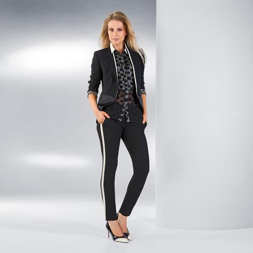 CostumeNemutso Anzug-Hose oder -Jackett Ein Hosenanzug neuester Generation: Sportive Lässigkeit, gepaart mit der Eleganz eines Smokings.