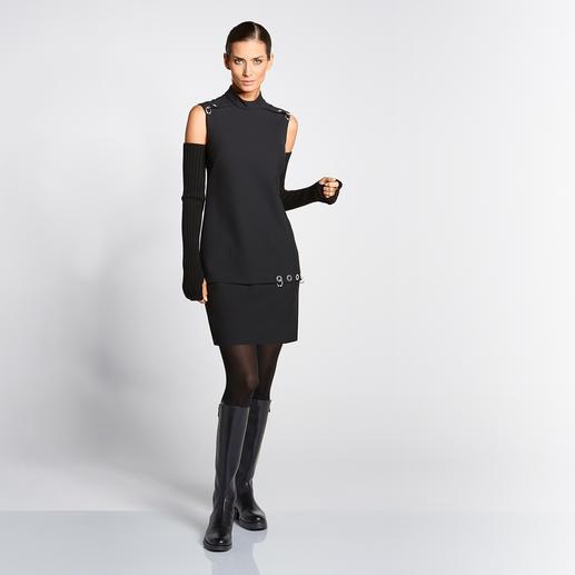 Versace Collection High-Fashion-LBD - Hochmodisch – und dabei ein vielseitiger Alleskönner: Versaces kleines schwarzes Schmuckstück.