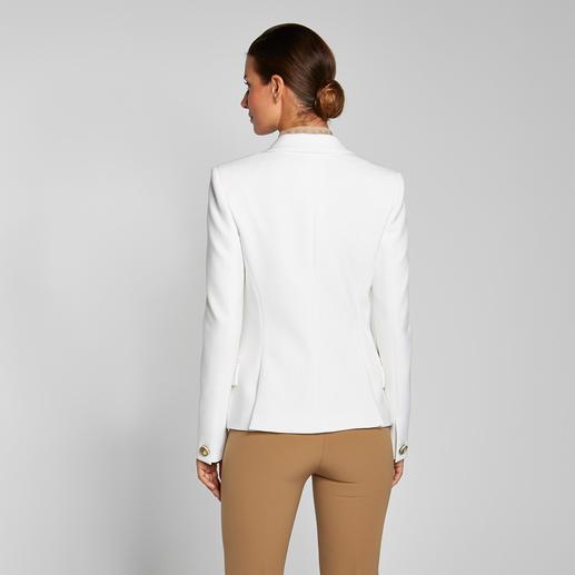 """Weißer Blazer Versace Collection """"Must-have""""-Teil des Mode-Sommers 2016: Der weiße Blazer. Perfekt gelungen von Versace."""