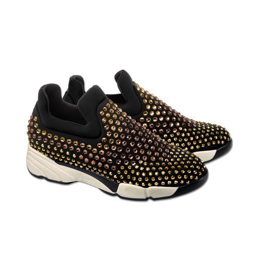Pinko Jewellery-Sneakers, Schwarz Nur die wenigsten Sneakers passen auch zu den elegantesten Kleidern und Party-Outfits.