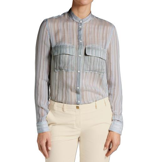 Cacharel Streifen-Hemdbluse - Cacharel macht die Hemdbluse zum eleganten Trend-Basic.