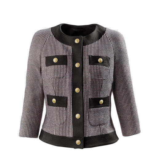Pierre Balmain Couture-Jacke - Top-Thema Couture-Jacke. Bei Balmain militärisch streng und schulterbetont.